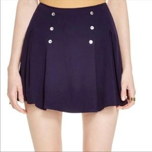 Blue Sailor Skirt